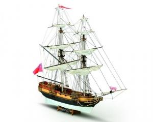 HMS Valiant drewniany model statku skala 1-66 Mamoli MV81