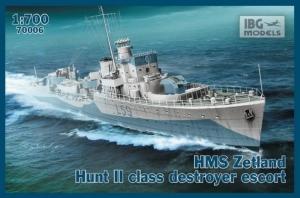 HMS Zetland Hunt II niszczyciel IBG 70006