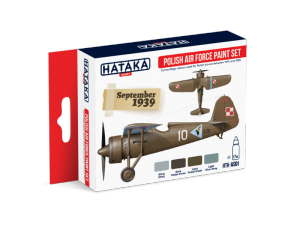 Hataka AS01 zestaw Polskie Siły Powietrzne farby akrylowe