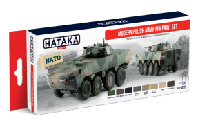 Hataka AS72 zestaw współczesna polska armia AFV farby akrylowe