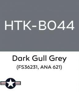 Hataka B044 Dark Gull Grey - farba akrylowa 10ml