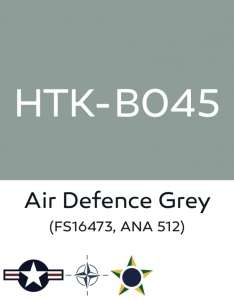 Hataka B045 Air defense grey - farba akrylowa 10ml