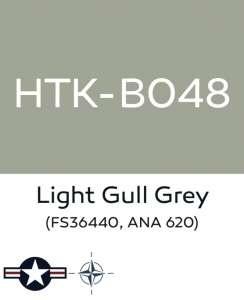 Hataka B048 Light gull grey - farba akrylowa 10ml