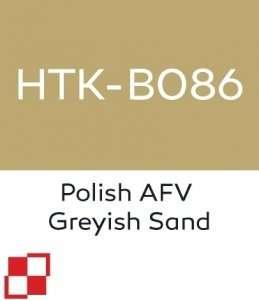 Hataka B086 Polish AFV Greyish Sand - farba akrylowa 10ml