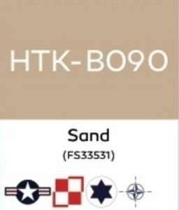 Hataka B090 Sand FS33531 - farba akrylowa 10ml