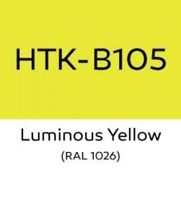 Hataka B105 Luminous Yellow - farba akrylowa 10ml