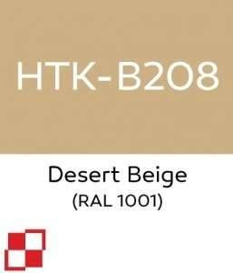 Hataka B208 Desert Beige - farba akrylowa 10ml
