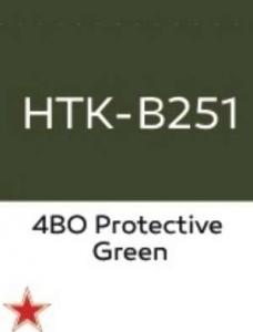 Hataka B251 4BO Protective Green - farba akrylowa 17ml