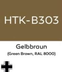 Hataka B303 Gelbbraun - farba akrylowa 10ml