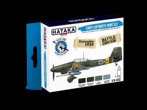 Hataka BS02 zestaw wczesne samoloty Luftwaffe farby akrylowe