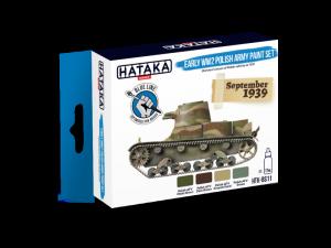 Hataka BS11 zestaw Wojsko Polskie farby akrylowe