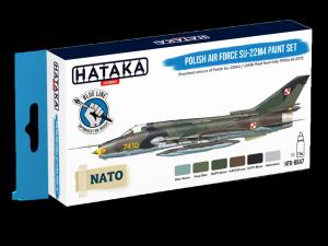 Hataka BS47 zestaw polskie samoloty Su-22M4 farby akrylowe