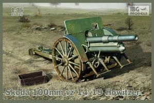 Haubica Skoda 100 mm vz 14/19 model 35025
