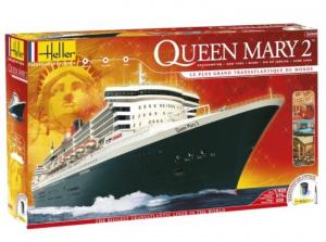 Heller 52902 Zestaw modelarski Queen Mary 2 model 1-600