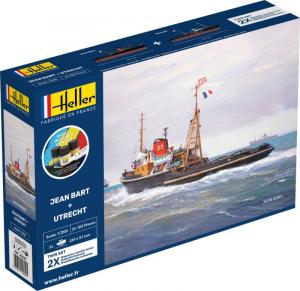 Heller 55602 Jean Bart i Utrecht Twin Set Starter Set 1-200