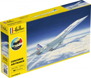 Heller 56445 Zestaw modelarski Concorde Air France model 1-125