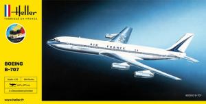 Heller 56452 Zestaw modelarski Boeing B-707 model 1-72