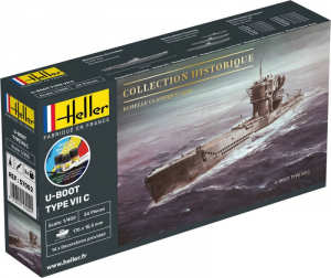 Heller 57002 Starter Set U-Boot Type VII C model 1-400