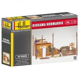 Heller 81250 Diorama Normandia model 1-35