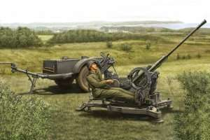 Hobby Boss 80148 2cm FlaK 38 Late Version - Sd.Ah 51