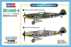 Hobby Boss 81750 Messershmitt Bf109G-2