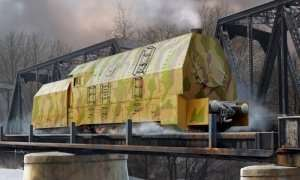 Hobby Boss 82922 German Panzerlok BR57 Armoured Locomotive