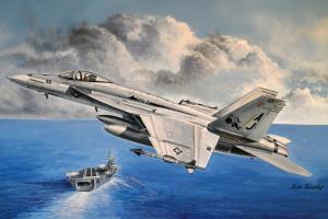 Hobby Boss 85812 Samolot F/A-18E Super Hornet model 1-48