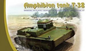 Hobby Park 35038 Czołg amfibia T-38 model 1-35