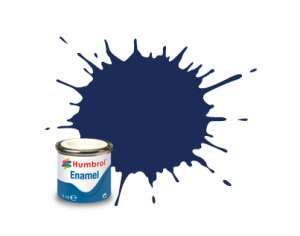 Humbrol 015 Midnight Blue Gloss - emalia 14ml