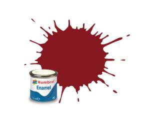 Humbrol 020 Crimson Gloss - emalia 14ml