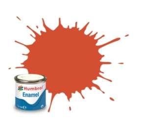 Humbrol 132 Red Satin - emalia 14ml