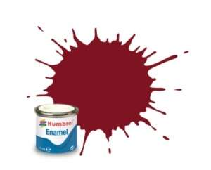 Humbrol 133 Brown Satin - emalia 14ml