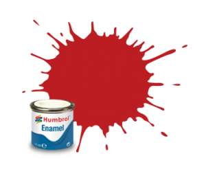 Humbrol 220 Italian Red Gloss - emalia 14ml
