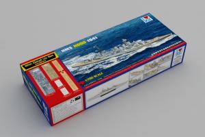 I love Kit 65703 HMS Hood 1941 z dodatkami i drewnianym pokładem