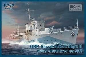 IBG 70001 ORP Ślązak 1943 Hunt II class destroyer escort