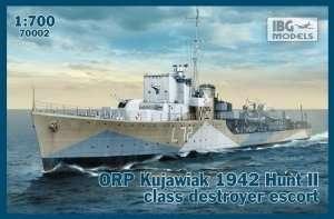 IBG 70002 ORP Kujawiak 1942 Hunt II niszczyciel
