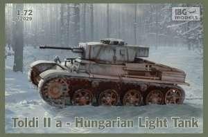 IBG 72029 Węgierski lekki czołg Toldi IIa
