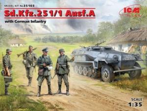 ICM 35103 Transporter opancerzony Sd.Kfz.251/1 Ausf.A