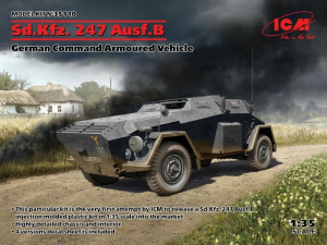 ICM 35110 Pojazd dowodzenia Sd.Kfz.247 Ausf.B