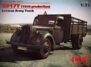 ICM 35413 Niemiecka wojskowa ciężarówka G917T 1939