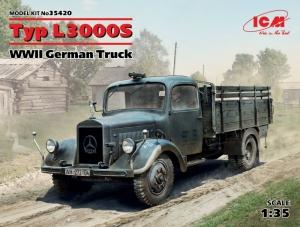 ICM 35420 Ciężarówka Typ L3000S model 1-35