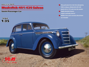 ICM 35479 Samochód Moskvitch 401-420 model 1-35