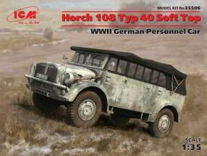 ICM 35506 Samochód wojskowy Horch 108 Typ 40