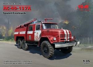 ICM 35519 Wóz strażacki AC-40-137A model 1-35