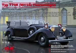 ICM 35533 Samochód Mercedes-Benz typ 770K W150