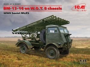 ICM 35591 BM-13-16 on W.O.T. 8 chassis Soviet MLRS