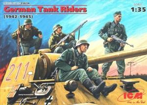 ICM 35634 Niemieccy czołgiści 1942-1945