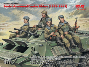 ICM 35637 Figurki radzieccy żołnierze 1979-1991 skala 1-35