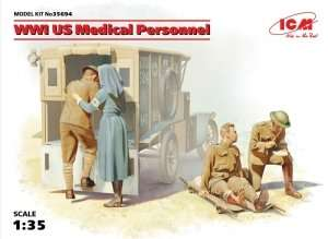 ICM 35694 WWI US Medical Personnel