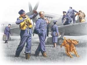ICM 48081 RAF Pilots and Ground Personnel